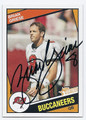 BRIAN GRIESE TAMPA BAY BUCCANEERS AUTOGRAPHED FOOTBALL CARD #120416H