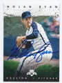 NOLAN RYAN HOUSTON ASTROS AUTOGRAPHED BASEBALL CARD #120516A