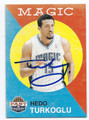 HEDO TURKOGLU ORLANDO MAGIC AUTOGRAPHED BASKETBALL CARD #120516E