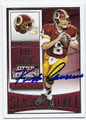 2015 PANINI CONTENDERS SEASON TICKET #98 KIRK COUSINS WASHINGTON REDSKINS AUTOGRAPHED FOOTBALL CARD 120616C