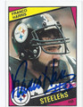 FRANCO HARRIS PITTSBURGH STEELERS AUTOGRAPHED VINTAGE FOOTBALL CARD #120616F