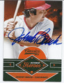 JOHNNY BENCH CINCINNATI REDS AUTOGRAPHED BASEBALL CARD #121316A