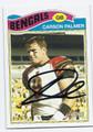 CARSON PALMER CINCINNATI BENGALS AUTOGRAPHED FOOTBALL CARD #121316C