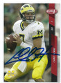 CHAD HENNE UNIVERSITY OF MICHIGAN WOLVERINES AUTOGRAPHED ROOKIE FOOTBALL CARD #121516A