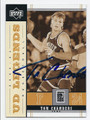TOM CHAMBERS PHOENIX SUNS AUTOGRAPHED BASKETBALL CARD #122216D