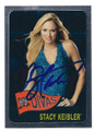 STACY KEIBLER AUTOGRAPHED WRESTLING CARD  #122616F