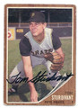 TOM STURDIVANT PITTSBURGH PIRATES AUTOGRAPHED VINTAGE BASEBALL CARD #122816A