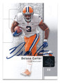 DELONE CARTER SYRACUSE UNIVERSITY ORANGE AUTOGRAPHED ROOKIE FOOTBALL CARD  #123116A