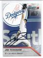 JOC PEDERSON LOS ANGELES DODGERS AUTOGRAPHED BASEBALL CARD #11117E