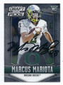 MARCUS MARIOTA OREGON DUCKS AUTOGRAPHED ROOKIE FOOTBALL CARD  #11117F