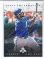 EDWIN ENCARNACION TORONTO BLUE JAYS AUTOGRAPHED BASEBALL CARD #11217E