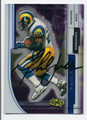 MARSHALL FAULK ST LOUIS RAMS AUTOGRAPHED FOOTBALL CARD #11717A