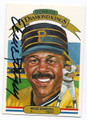 WILLIE STARGELL PITTSBURGH PIRATES AUTOGRAPHED VINTAGE BASEBALL CARD #11717B