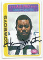 HARVEY MARTIN DALLAS COWBOYS AUTOGRAPHED VINTAGE FOOTBALL CARD #11717C