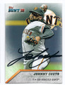 JOHNNY CUETO SAN FRANCISCO GIANTS AUTOGRAPHED BASEBALL CARD #11717D