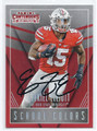EZEKIEL ELLIOTT OHIO STATE BUCKEYES AUTOGRAPHED ROOKIE FOOTBALL CARD #11817A
