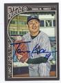 MASAHIRO TANAKA NEW YORK YANKEES AUTOGRAPHED BASEBALL CARD #12317B