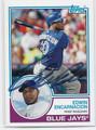EDWIN ENCARNACION TORONTO BLUE JAYS AUTOGRAPHED BASEBALL CARD #12317D
