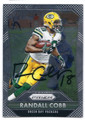 RANDALL COBB GREEN BAY PACKERS AUTOGRAPHED FOOTBALL CARD #12417A