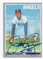 JIM FREGOSI CALIFORNIA ANGELS AUTOGRAPHED VINTAGE BASEBALL CARD #12517B