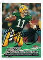 MATT HASSELBECK GREEN BAY PACKERS AUTOGRAPHED FOOTBALL CARD #12517D
