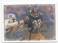 FRANCO HARRIS PITTSBURGH STEELERS AUTOGRAPHED FOOTBALL CARD #12617E