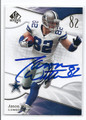 JASON WITTEN DALLAS COWBOYS AUTOGRAPHED FOOTBALL CARD #12717B