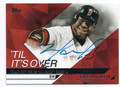 DAVID ORTIZ BOSTON RED SOX AUTOGRAPHED BASEBALL CARD #13017A