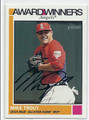 MIKE TROUT LOS ANGELES ANGELS OF ANAHEIM AUTOGRAPHED BASEBALL CARD #13017F