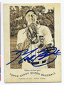 MAX SCHERZER DETROIT TIGERS AUTOGRAPHED BASEBALL CARD #13117C