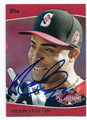 NELSON CRUZ SEATTLE MARINERS AUTOGRAPHED BASEBALL CARD #13117F