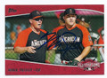MIKE TROUT LOS ANGELES ANGELS OF ANAHEIM AUTOGRAPHED BASEBALL CARD #20117A