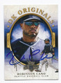 ROBINSON CANO SEATTLE MARINERS AUTOGRAPHED BASEBALL CARD #20117B