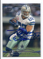 JASON WITTEN DALLAS COWBOYS AUTOGRAPHED FOOTBALL CARD #20117F