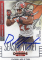 DOUG MARTIN TAMPA BAY BUCCANEERS AUTOGRAPHED FOOTBALL CARD #20617A