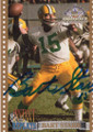 BART STARR GREEN BAY PACKERS AUTOGRAPHED FOOTBALL CARD #20817B