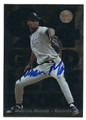 MARCUS MOORE COLORADO ROCKIES AUTOGRAPHED ROOKIE BASEBALL CARD #31217B