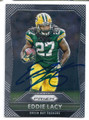 EDDIE LACY GREEN BAY PACKERS AUTOGRAPHED FOOTBALL CARD #31217D
