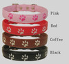 Embroidered Paw Collar