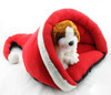 Christmas hat Pet bed