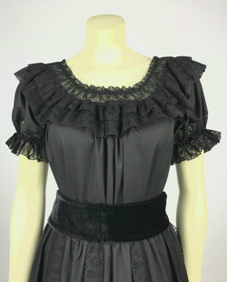 Fiesta Blouse - Black