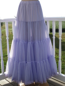 Chiffon Petticoat Lavender