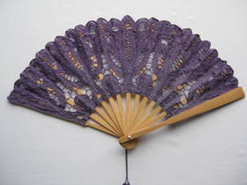 Lace Fan Lavender
