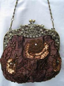 Vintage Evening Bag HB03311-BRW