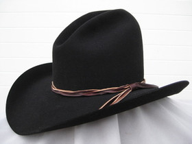 Gus Black Felt Hat