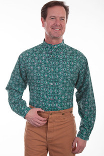 Scully  Print Shirt Emerald Green *NEW*