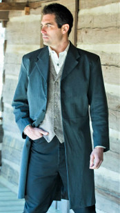Tombstone Frock Coat - Charcoal
