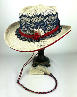 Lace Shooter Hat- All American