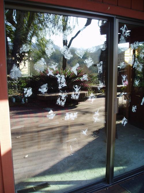 The Truth About Window Decals - Window decals to prevent bird strikes