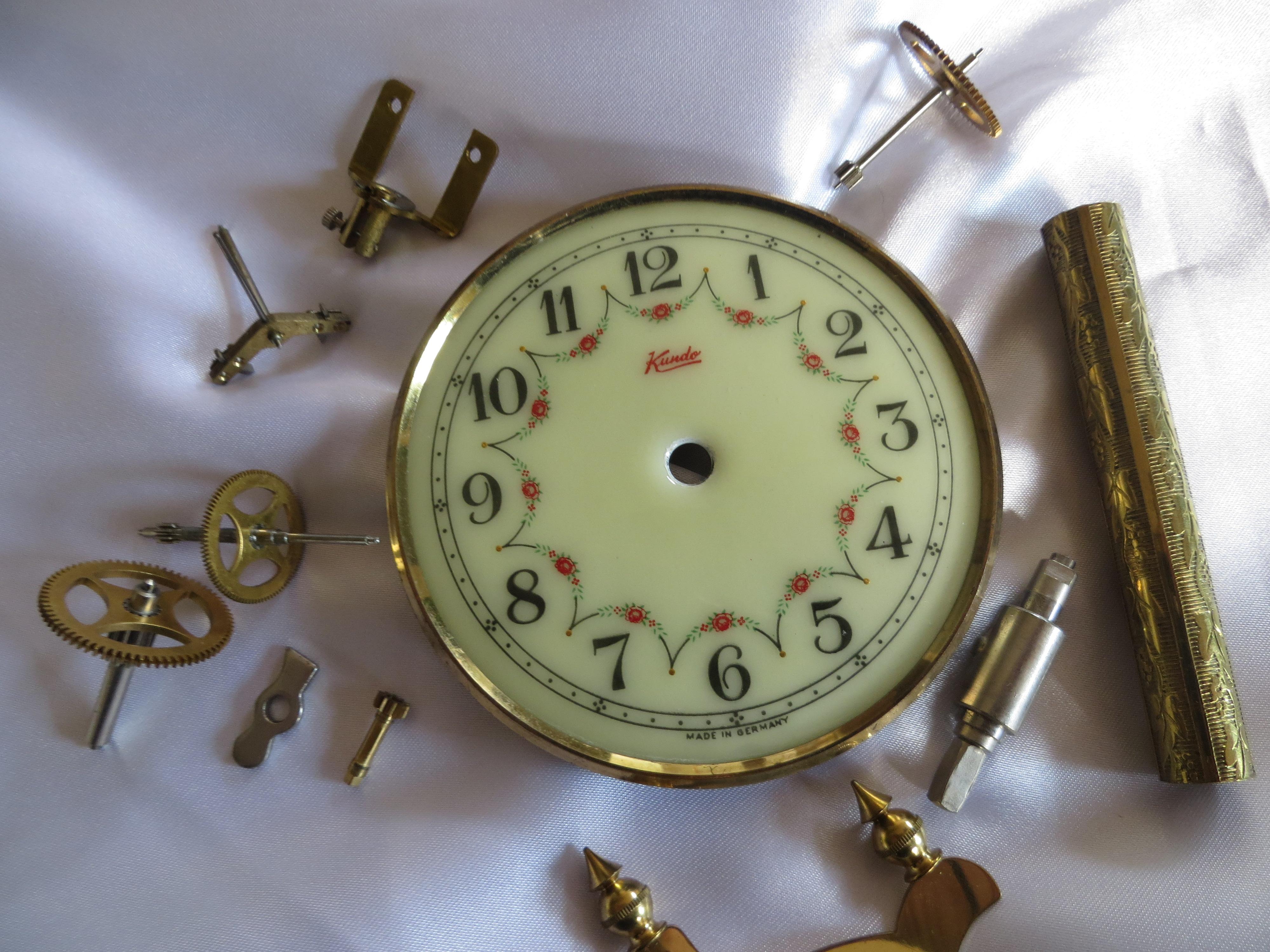 Diagram Of An Anniversary Clock Repair Wiring Scheme